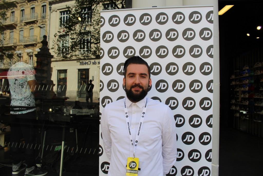 Romain Bucher JD Sports Avignon