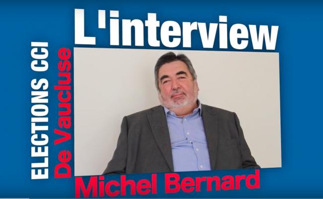 VIDEO : Voici les projets de Michel Bernard pour les entreprises