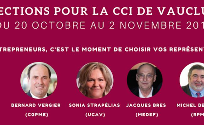Elections CCI de Vaucluse : Ce qu'il faut savoir…