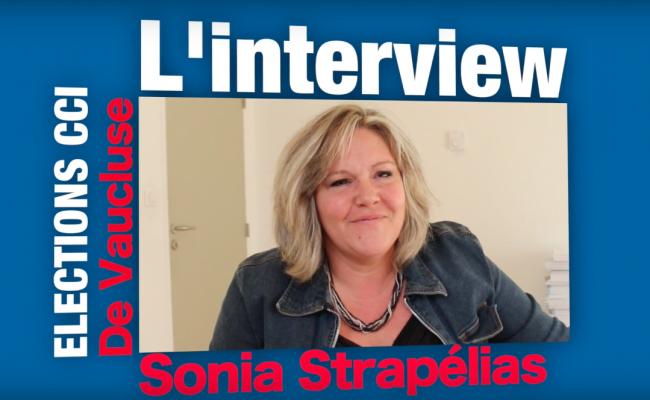 VIDEO : L'interview de Sonia Strapélias, candidate à la CCI de Vaucluse